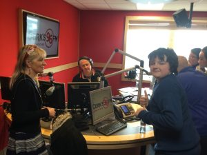 At RED FM with PJ Coogan